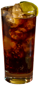 Cocktail with cola